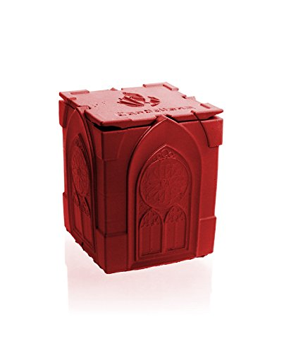 Orient Vanilla Scent Gothic Red Candellana Candles Candlefort Concrete Candle