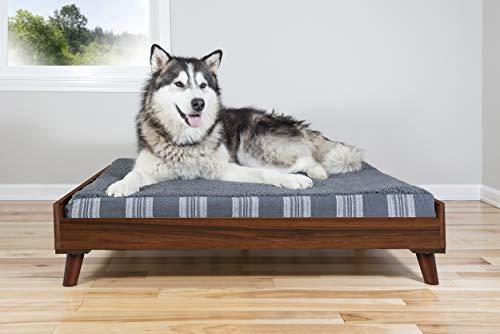 FurHaven Pet Bed Frame   Bed Frame for Pet Beds & Mattresses, Walnut, Jumbo by Furhaven Pet (Image #3)