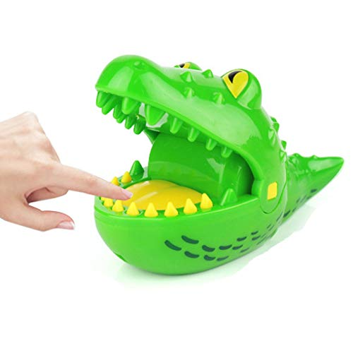 Livoty Crocodile Biting Finger Game Mouth Dental Toys Funny Party Home Game Party Game for Adults and Kids (Best Big Mouth Toys Desk Toys)