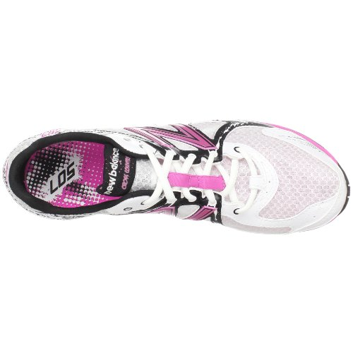New Balance Dames Wrx507cp Keramische Cross Country Running Spike Wit / Roze