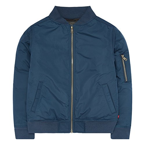Big Bomber (Levi's Big Boys' Bomber Jacket, Dress Blues, L)