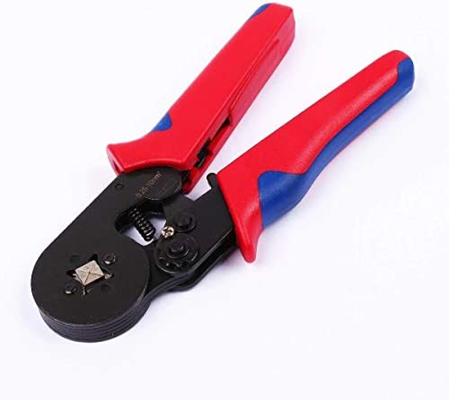 Ferrule Crimping Pliers with 1200 Electrical Wire Connector Terminal Crimp Tool Kit DIY Tools Kit