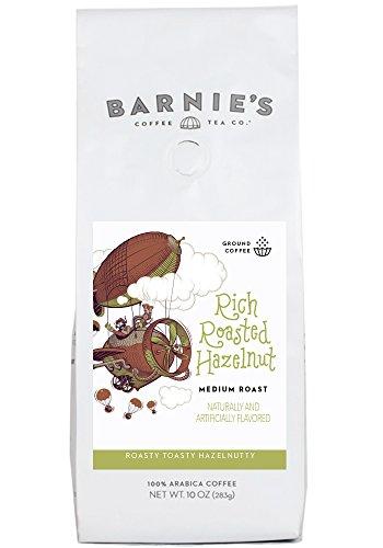 Barnie's Coffee, Fertile in Roasted Hazelnut Ground Coffee, 10 Ounce