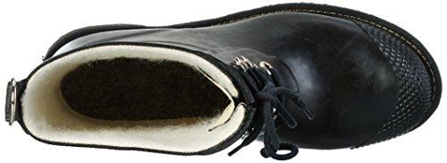 Ilse Jacobsen Damen 3/4 Gummistiefel Kurz, Rub76, Stivali a metà Polpaccio con Imbottitura Leggera Donna Nero (Schwarz (Schwarz (001)))