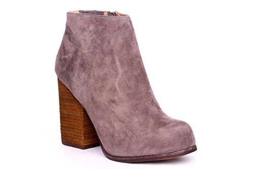 Jeffrey Campbell Hanger Womens Size 7.5 Gray Suede Fashion Ankle Boots
