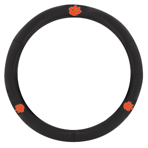 steering wheel cover clemson - 6