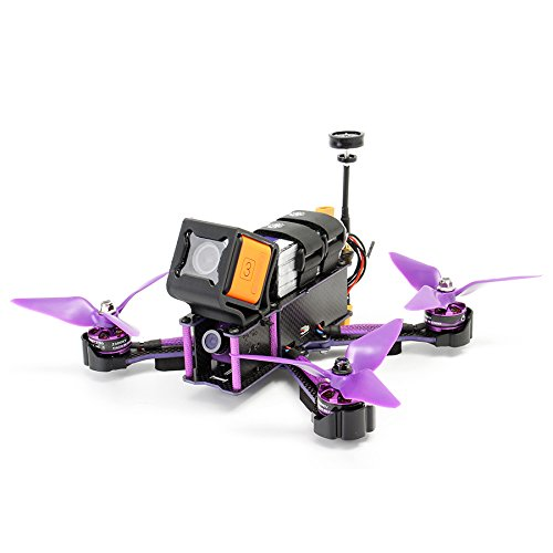 "Eachine Wizard X220S FPV Racing Drone with Omnibus F4 5.8G 72CH 200mw/600mW Switchable VTX 30A Dshot600 ""Incredible Speed and Power at your Fingertips"" - ARF Version from EACHINE"
