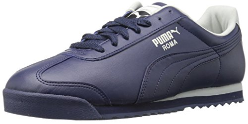 PUMA Men's Roma Basic Sneaker, Peacoat-Gray Violet, 8.5 M US