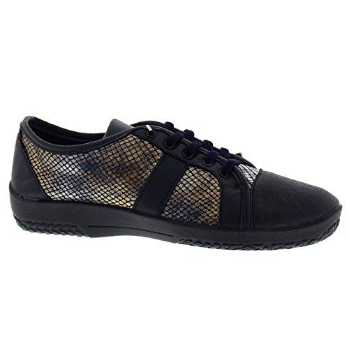 Leta Navy Arcopedico Shoes Synthetic Womens Hqqwp5O
