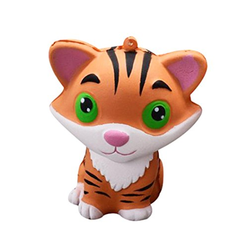 Truck Stress Reliever (Stress Reliever Toy Pulison(TM) Squishy Cute Tiger Squeeze Slow Rising Cream Scented Cure Decor Fun Amazing Toy)
