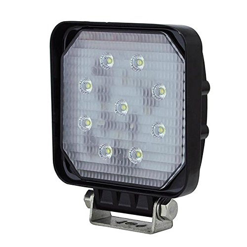 LEDwholesalers 20 Watt Offroad LED Work Spot Light for Cars, Truck, ATV, Equipment, 10-30VDC, Pack of 4 Lamps, 1485WHx4