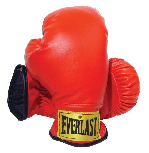 Everlast Laceless Gloves (Red, Small)