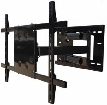 Single Arm Full Motion TV Wall Mount for Samsung UN55F8000BFXZA LED Flat Panel DisplayOffers 180 of Swivel on Wall