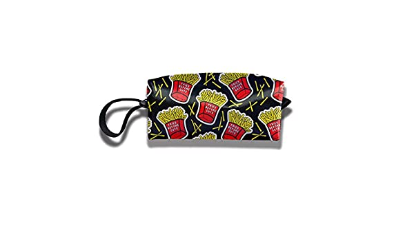 978344604bc0 Amazon.com : YyTiin Fries Before Guys Portable Toiletry Cosmetic Bag ...