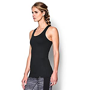 Under Armour Women's Tech Victory Tank, Black/Granite, Small
