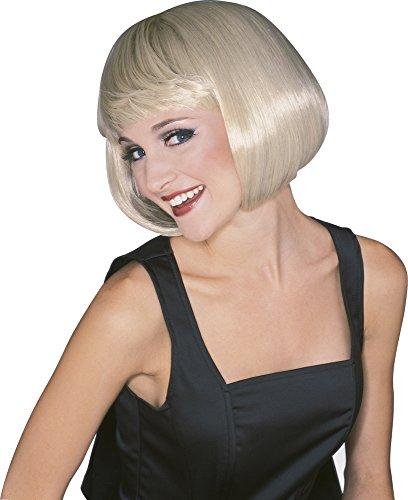 [Supermodel Wig Color: Blond] (Scissors Paper Rock Costume)