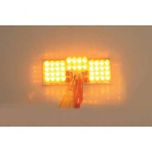 Custom Dynamics Front LED Fender Tip Board - Amber ()
