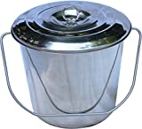 Stainless Steel Milk Pail Bucket with
