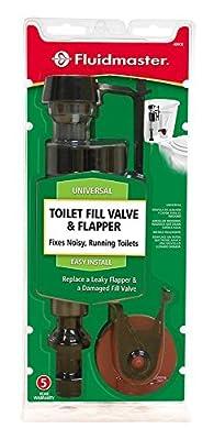Fluidmaster 400CR Toilet Fill Valve and Flapper Repair Kit