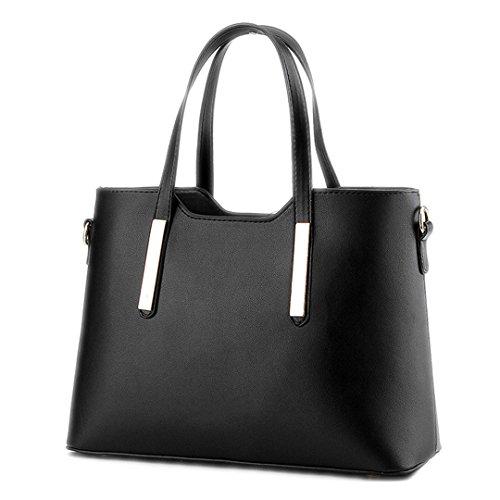 occasionnel à sacs amp; Designer Black Sacs féminin bandoulière Top Les femmes tout fourre Rouge Sacs Femmes Handle main épaule 5zxn4XwqRa