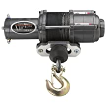 Viper Max 5000lb ATV Winch & Custom Mount for Yamaha Big Bear 400 2x4, 4x4 with BLACK AmSteel®-Blue Synthetic Rope