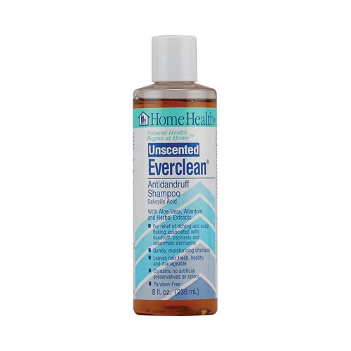 Home Health Antidandruff Shampoo Unscented, 8 oz