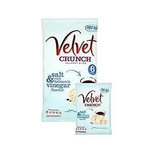 Velvet Crunch Salt & Vinegar 20g x 6 per pack