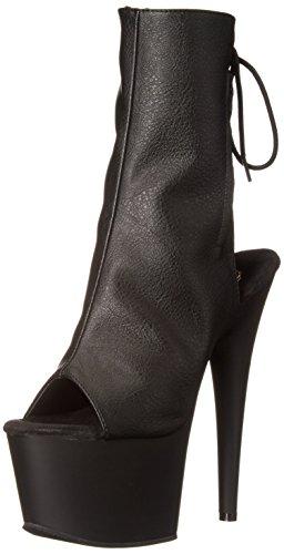 Pleaser Adore 1018, Stivali Donna Nero (Black (Blk Faux Leather/Blk Matte))