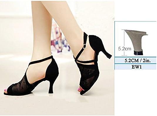 YFF /Les femmes cadeaux Chaussures de danse de bal danse latine chaussures de danse tango 7.5CM 8.5CM