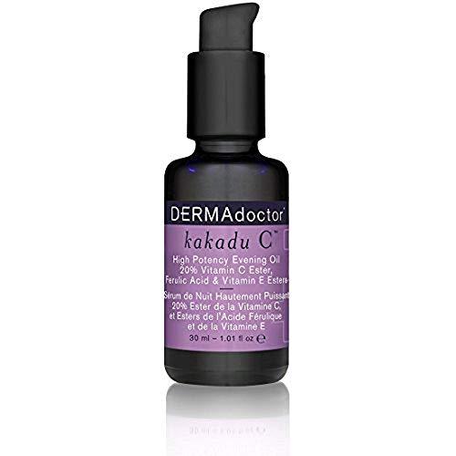 DERMAdoctor Kakadu C High Potency Evening Oil 20% Vitamin C Ester, Ferulic Acid & Vitamin E Esters