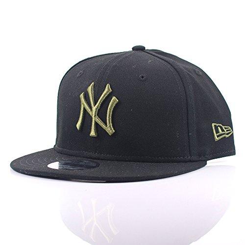 New Era - Gorra de béisbol - para hombre Negro negro Small-Medium