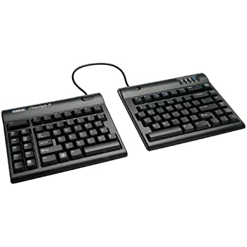 "Kinesis Freestyle2 Ergonomic Keyboard w/ VIP3 Lifters for PC (9"" Separation)"