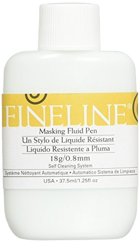 (Fineline Applicators Fineline 18ga Std Tip Masking Fluid Pen 1.25oz)