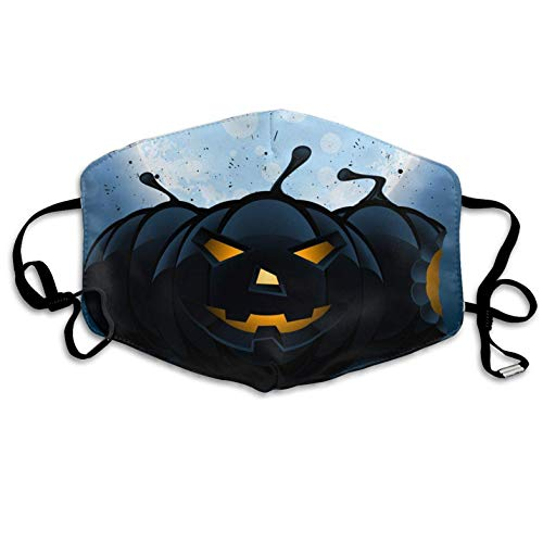 Halloween Pumpkin Pattern Mouth Masks Unisex Anti-Dust Flu Mouth Mask Fashion Design for Girls Women Boys Men]()
