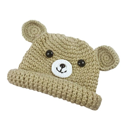 Price comparison product image Toddler Cute Baby Kids Girl Boy Cartoon Dog Ear Warm Winter Knitted Cap Hat BeanieVibola Keep Warm Winter Hats (Beige)