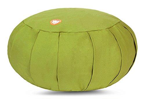 Pure Life Meditation Cushion - Kapok Filled Zafu (Spring Green)