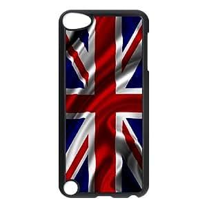 iPod Touch 5 Case Black Grunge British Flag M2376060