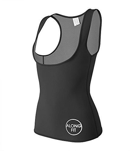 La Corset (Women Waist Trainer Corset Sauna Vest Neoprene Slimming Vest Body Shaper For Weight Loss Hot Sweat)
