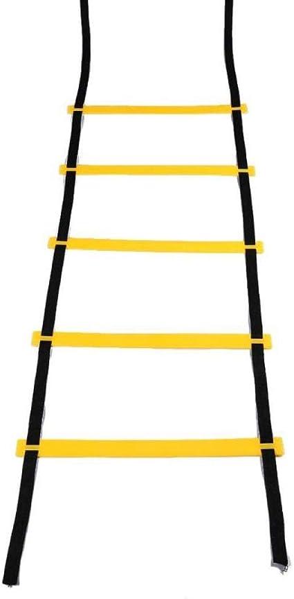 Escaleras de Nailon para Entrenamiento de Velocidad de fútbol, Escalera de Agilidad, Correas de Nailon: Amazon.es: Coche y moto