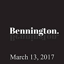 Bennington, Mike Recine and Yamaneika Saunders, March 13, 2017