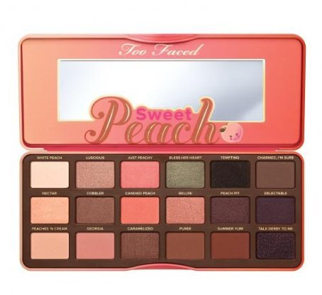 Two Face Make Up (Too Faced Sweet Peach Eye Shadow Collection)