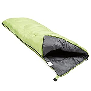 EUROHIKE Super Snooze 250 Sleeping Bag, Green, One Size