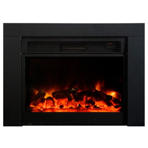 Cheap AA Warehousing FP Electric Fireplace Insert Large Black Black Friday & Cyber Monday 2019