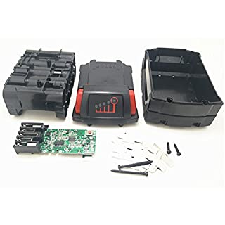 18V 5.0Ah 4.0Ah 3.0Ah Replacement Battery Plastic Case for Milwaukee 18V M18 M18B 48-11-1820 48-11-185048-11-1828 48-11-10 Li-ion Battery Cover Part