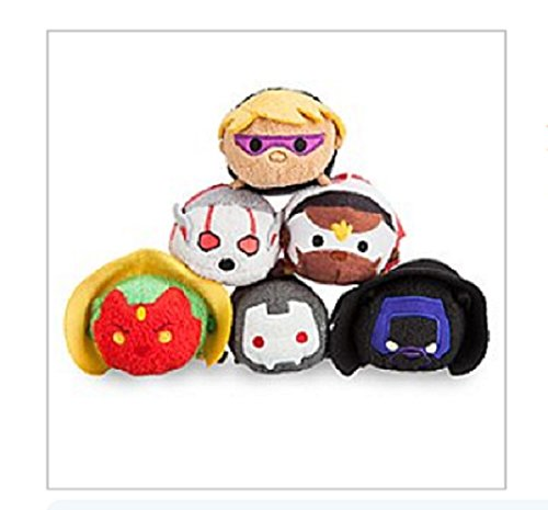 Disney - Marvel's Avengers Mini ''Tsum Tsum'' Plush Collection - Series 2 - Set of 6 - New with Tags