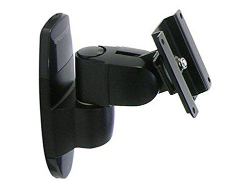 Ergotron 200 Series Wall Mount Pivot - Mounting Kit ( Wall Plate, Pivot ) for Monitor - Black - Screen Size: Up to 24