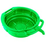 Car Oil Drain Pan Green Portable Anti-Freeze Fuel Gasoline 16 Liter 6'' Deep x 15.25'' Inch Diameter - Skroutz