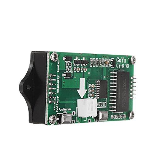 LaDicha Y6 12V 24V 36V 48V Batterie au Plomb 2-15 Piles au Lithium Universel r/églable 6-65V /écran Vert /étanche LCD capacit/é afficheur indicateur num/érique Voltm/ètre