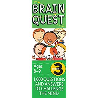 Brain Quest 3rd Grade Q&A Cards: 1000 Questions and Answers to Challenge the Mind. Curriculum-based! Teacher-approved! (Brain Quest Decks)