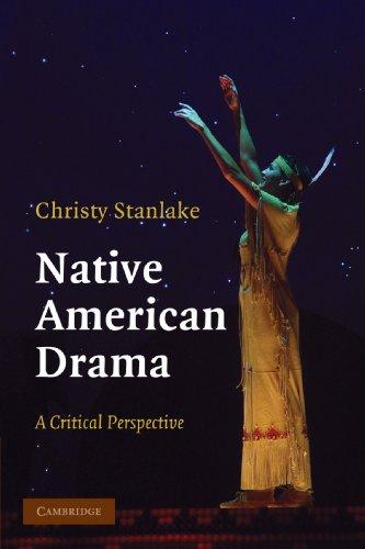 Native American Drama: A Critical Perspective